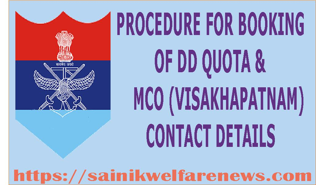 MCO Visakhapatnam Contact details
