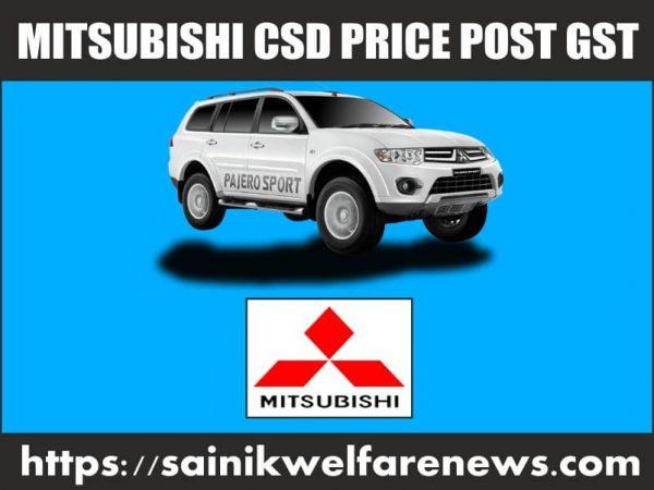 Mitsubishi Brand Four Wheeler Pajero Sport