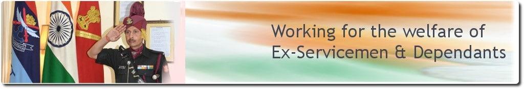 Ex Servicemen Welfare Schemes